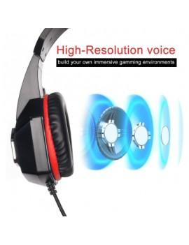 hunterspider V1 gaming headset  blue