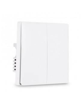 Aqara QBKG03LM Wall Switch Smart Light Control Double Key ZigBee Version